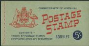 AUS SG SB35 5/- Booklet containing SG314d